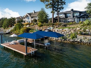 Northshore Luxury Waterfront Family Home |  Private 1 mile to downtown Sandpoint