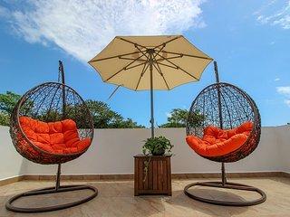 The Birds Nest at TAO in the 5 star Bahia Principe Resort, Riviera Maya Mexico