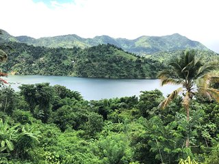 ☼Caonillas Lake View, Secluded Apt 2BR-1bath; WiFi