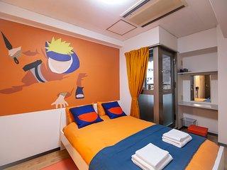 Naruto Fan Art Den Den Anime Namba Osaka PA01