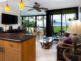 Oceanfront Kihei Surfside 208 luxury condo