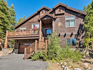 Luxe Tahoe Home Near Donner Lake, Truckee & Hiking