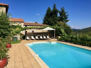 Restored Mansion in Saint-Basile with Private Pool