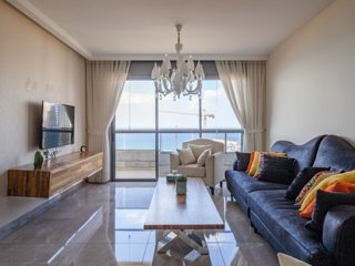 Luxury Mini Penthouse 3BR Amazing Beach&Sea View Prime Location Bat-Yam