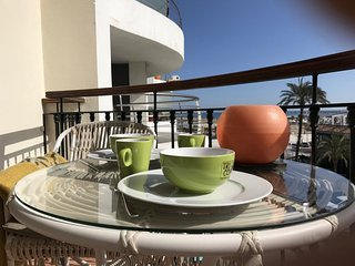 Apartment Costa Blanca Denia Centre El Forti, right on beach
