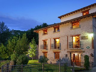 Cozy Mansion in Torrecilla en Cameros with Mountain View