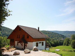 Cozy chalet with dishwasher, located in the High Vosges
