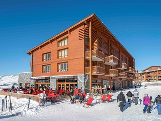 Luxury apartment with Wi-Fi in large ski area Paradiski