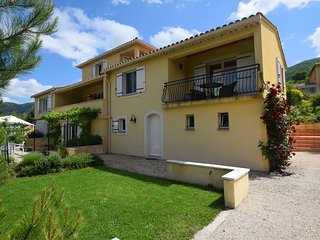 Lovely Apartment in Montbrun-les-Bains with Balcony