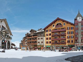 Authentic apartment in the center of Les Arcs 1950