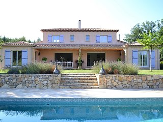 Modern Villa in Tourrettes with Swimming Pool