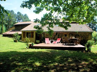 French Mansion in Aquitaine with private terrace