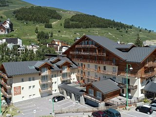 Nice apartment with a dishwasher located in Les Deux Alpes