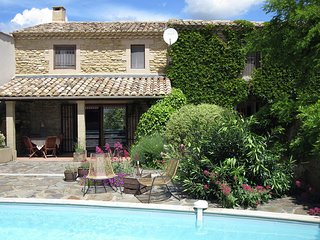 Beautiful 18th century house with private pool in Fournès, Pont-du-Gard