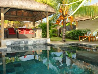 Villa Oasis 8 grand baie, no insight views, total privacy on pool and garden