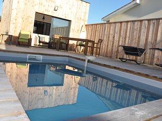 La cabane de la Hume avec piscine privee