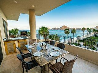 Spectacular OCEANFRONT - 2 Bedrooms, 4th Floor, Medano Beach & Lands End Views!