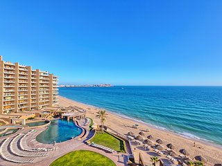 Luxury Ocean Front Beach Condo at Las Palomas. Breathtaking Ocean Views!