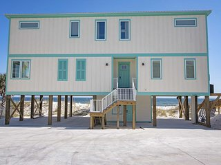 Brand New 6 Bedroom beach house located directly on the Gulf in Orange Beach