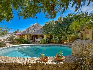 Restored Cunucu Style Pool  Home | Beach Access