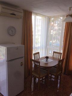 Fridge/Freezer and Dining table