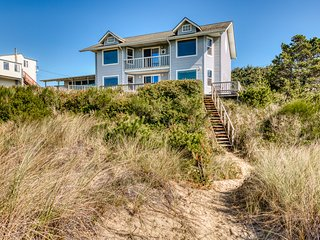 Oceanfront home - secluded, yet close to town