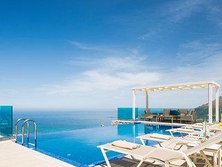 Brand new villa Bonsai, luxury, private pool, amazing sea view