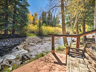 Charming Snowmass Studio on Creek, 10 Mi. to Aspen