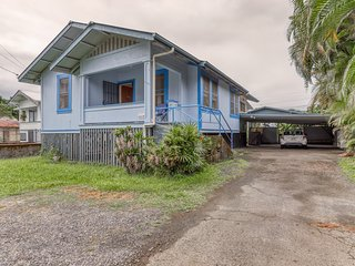 NEW LISTING! Hilo-style single-family home in town with private backyard!