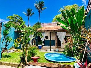 Casa de Temporada em Arraial D´Ajuda centro e 400m do Mar
