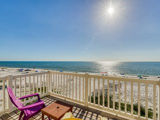 Dog-friendly & beachfront home w/coastal views & beach access