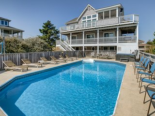Gone to Carolina | 1273 ft from the beach | Private Pool, Hot Tub | Duck