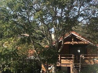 Loft avec terrasse, tt confort, 500 m du centre et de la plage