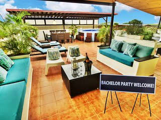 Santo Domingo Bachelor Party Luxury Triplex Penthouse PRICE MATCH