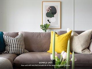 Domio | Uptown Charlotte | Impressive Two Bedroom | Parking + Laundry
