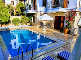 Luxury Villa Zarif with Private Pool and Roof Terrace in central Kalkan.