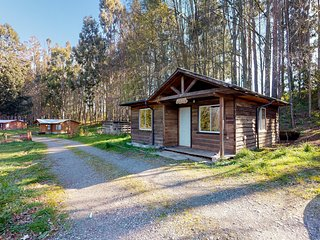 Convenient rural cabin near the lake with breathtaking surroundings!