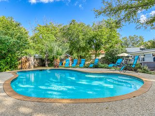 Historical charm & a modern renovation await. Dog-friendly, hot tub & pool!