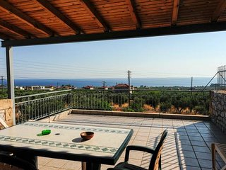 Nest overlooking the sea, 5min from the beach