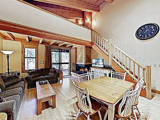 New Listing! Creekside Townhome by Skiing & Rec Center at Northstar Village