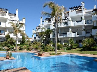 First line beach La Cala de Mijas Ground floor, pool and private parking.