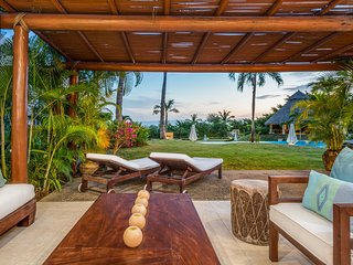 Modern Ground Floor Condo - Steps to the Beach in Punta Mita with Ocean Views