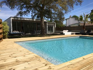 Modern Villa Heated Pool near Hossegor