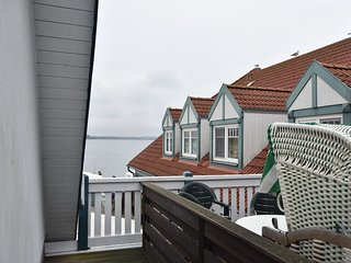 Family apartment with Baltic Sea and Haffblick