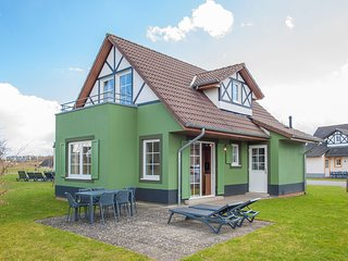 Restyled villa with washing machine, near the river Moselle