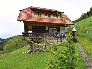 Detached holiday home with a great view and private terrace in the Black Forest