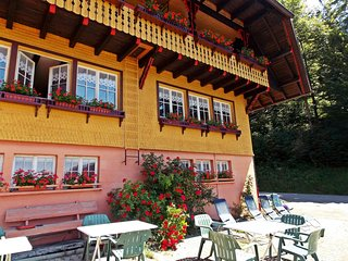 Quietly situated group house in the southern Black Forest with a gorgeous view
