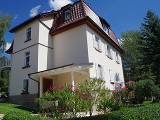 Modern apartment with balcony in Mülsen, on the edge of the Ore Mountains