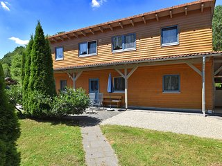 Large holiday home in Kellerwald-Edersee National Park with balcony and terrace