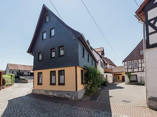 Lovely holiday accommodation in Rennsteig with covered terrace and garden